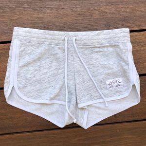 White Hollister Lounge Shorts